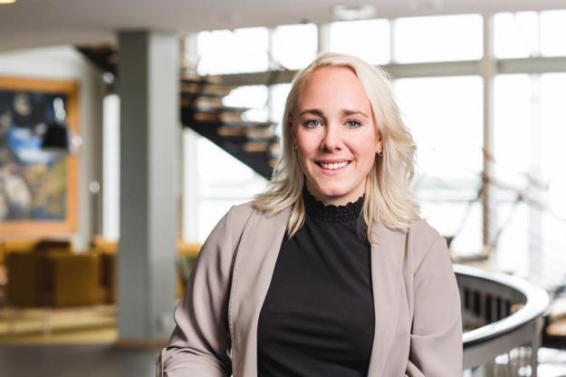 Linda Ottosson, chef för marknadskommunikation Södra Cell & Södra Wood.