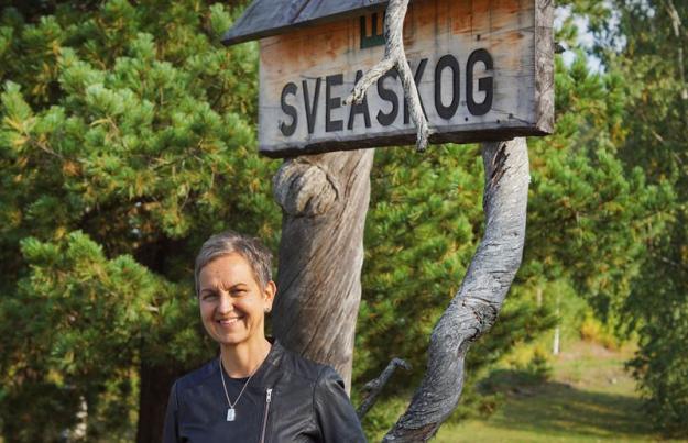 Hannele Arvonen, vd Sveaskog.