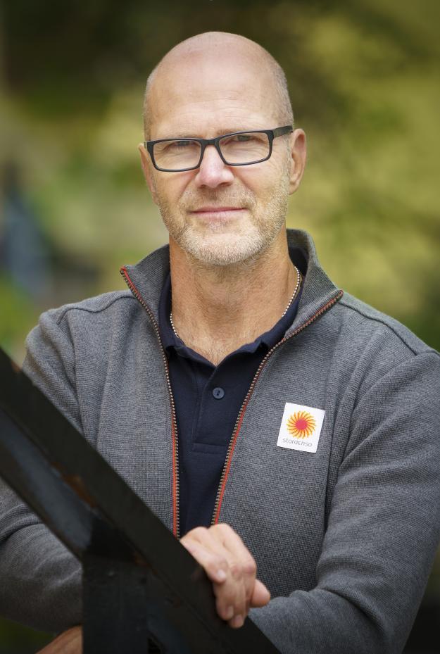 Mikael Eriksson på Skogshälsan, Stora Enso Skogs företagshälsovård.