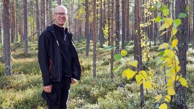 Fredrik Klang, skogsbrukschef på Sveaskog.