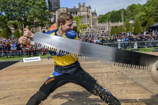Under Rookie VM 2019 som arrangerade vid Tjolöholms Slott utanför Kungsbacka tog Emil Hansson hem bronsplatsen.