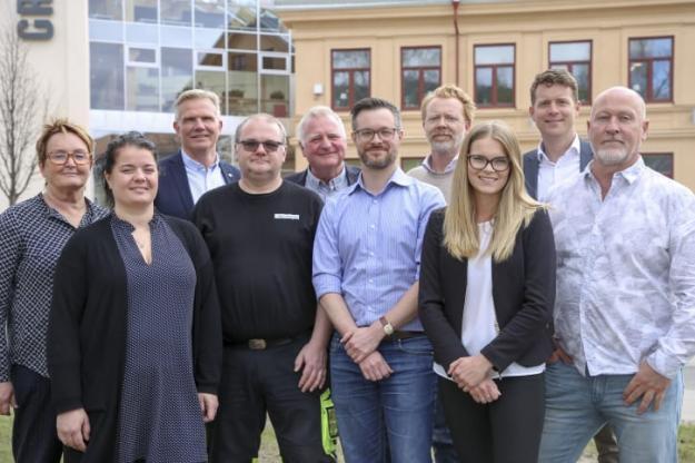 Deltagarna i Forest Business Accelerator 2019 tillsammans med affärsrådgivare på BizMaker.