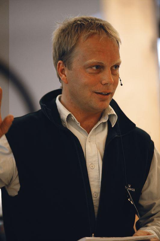 Jonas Björklund, miljö- och naturvårdsspecialist på Sveaskog.