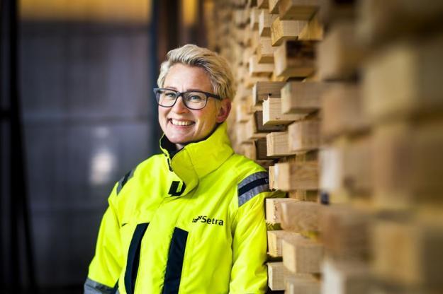 Marlene Bergström, platschef Setra Malå.