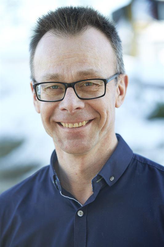 Mikael Lundberg, skogsvårdschef i marknadsområde Nord på Sveaskog.