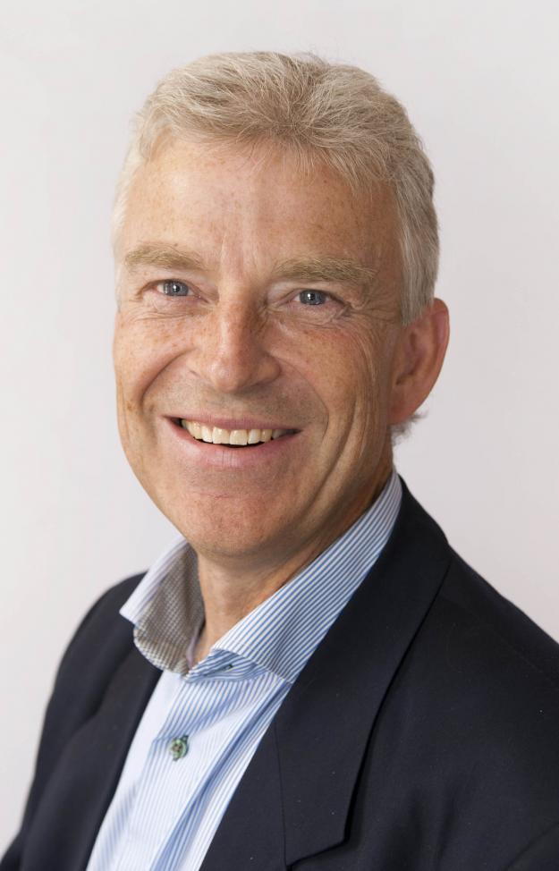 Max Enander, förste stiftsjägmästare på Härnösands stift.