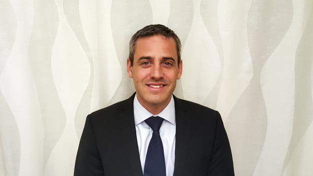 Claudio Talamo, vd för Caldaro.