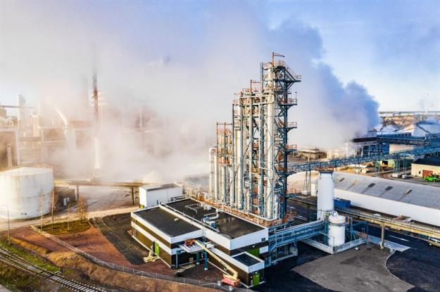 Biometanolfabrik.