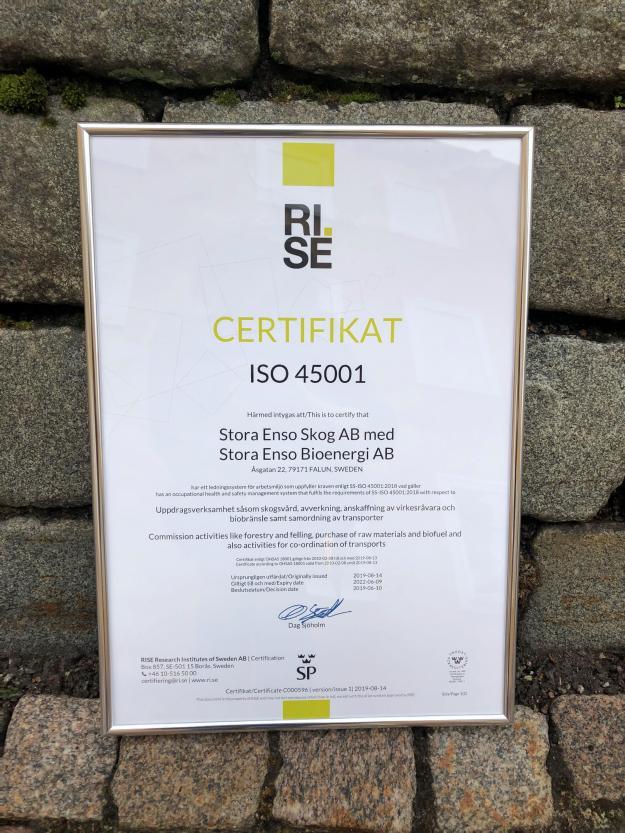 ISO 45001 är en internationell ledningssystemstandard, som ersätter den gamla OHSAS 18001 .