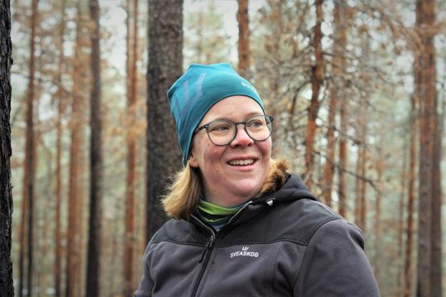 Daniella Andersson, miljö- och naturvårdsspecialist Sveaskog.