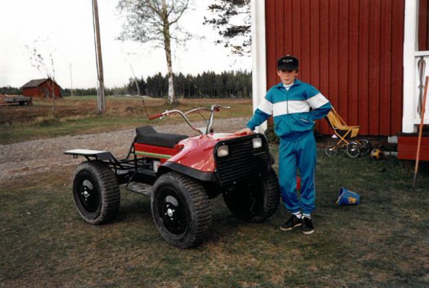 Vimek Minimaster, en gammal trotjänare hos många skogsägare som snabbt blev en succé. Från Vimek 101 till dagens 630 med många användningsområden.
