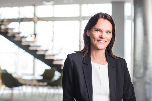 Catrin Gustavsson, chef för Innovation & Nya Affärer på Södra.