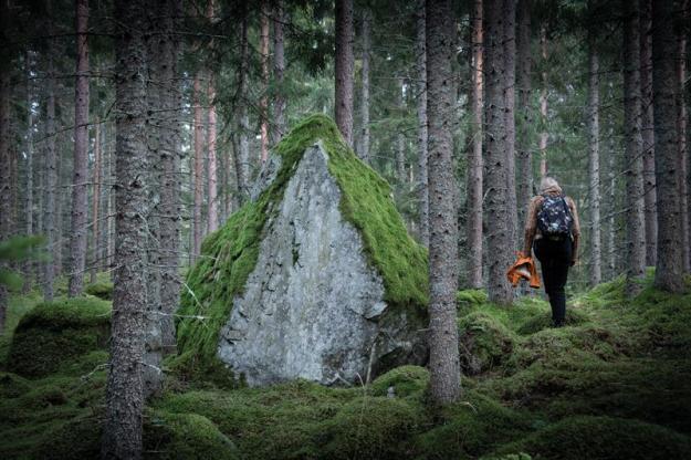 Skogen Kallar är ett verk av Malin Arnell och Åsa Elzén.
