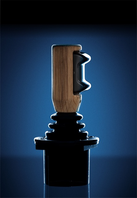 Joystick från Caldaro, som är ett av de första företagen i branschen som undertecknat UN Global Compact.