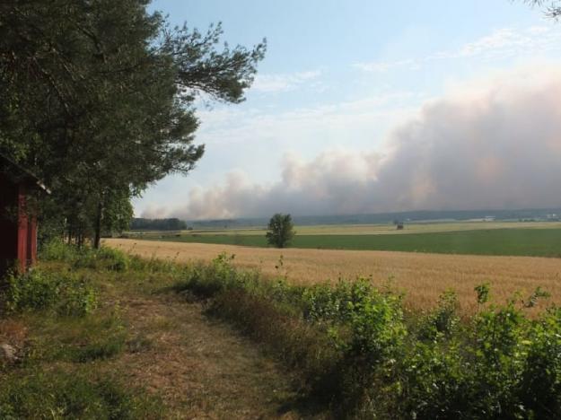 Skogsbrand augusti 2014, Västmanland.