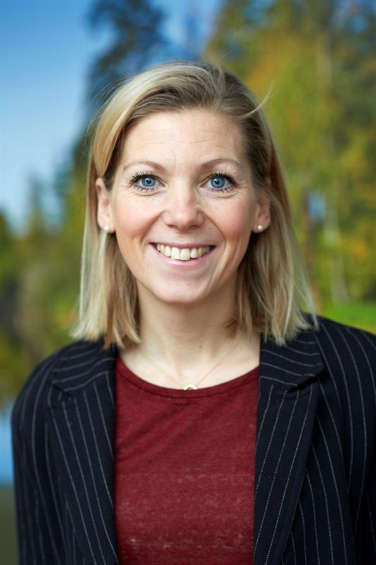 Rebecka Rödin, resultatchef Södra Bergslagen, Sveaskog.