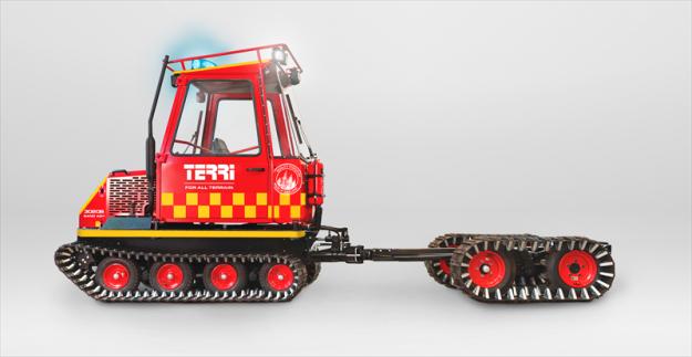 Terri har gjort sig känt för att tillverka små och smidiga skogsmaskiner med låg markpåverkan.