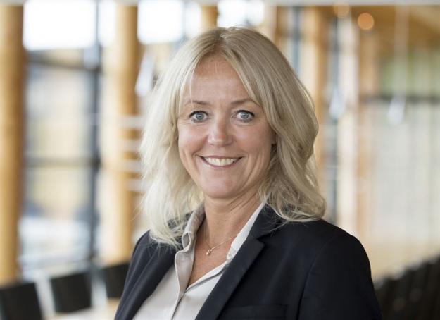 Maria Baldin, hållbarhets- och kommunikationsdirektör i Södra.