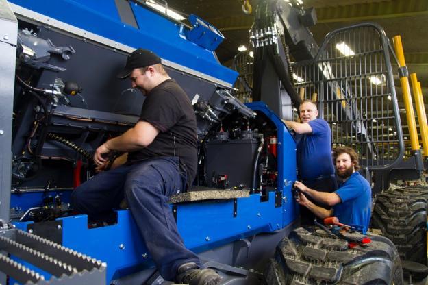 Fantastisk personal och stor kunskap på alla poster är en viktig framgångsfaktor för Rottne.