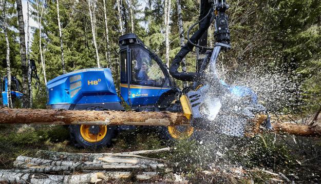 Tillsammans ger uppdateringarna på Rottne EGS 406 ytterligare högre driftsäkerhet och ökad produktion.