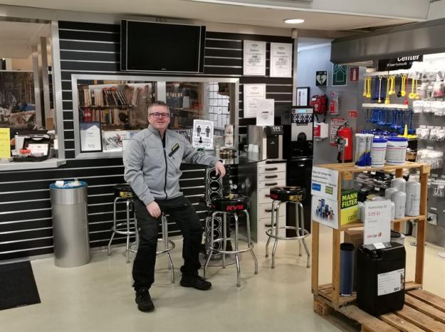 Niclas Nilsson är från den 1 februari ny ägare av TraktorCity i Piteå.