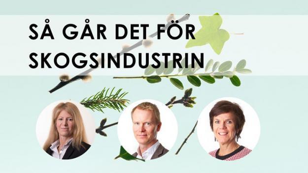 Ny rapport från Skogsindustrierna.