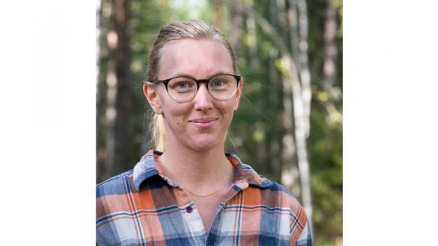 Emelie Fredriksson, doktorand vid SLU i Umeå.