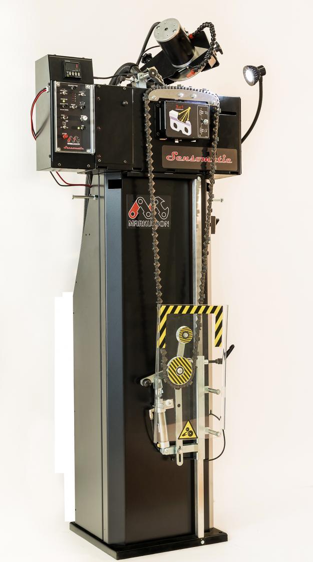 Nylanserade Sensomatic är den kompletta kedjeslipen många har väntat på.