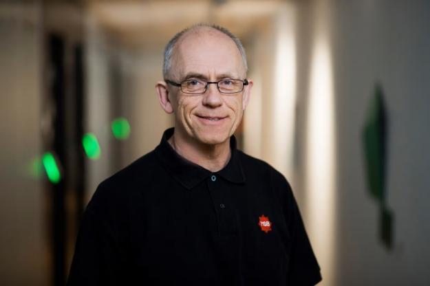 Leif Sandahl, brandingenjör på MSB.