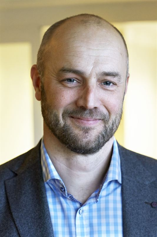Mattias Forsberg produktionschef i Sveaskogs marknadsområde Syd.