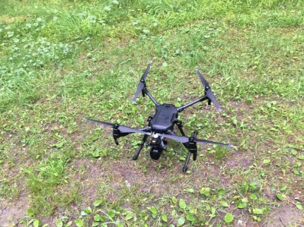 En drönare utrustad med dubbla kameror kan ge ny information om skogen.
