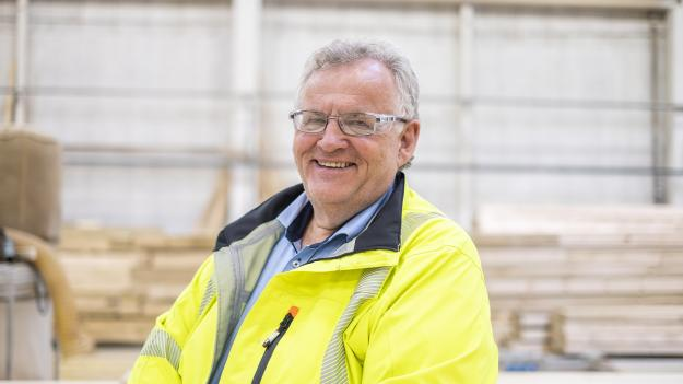 Koncernchef Morten Kristiansen på Moelven Industrier ASA.