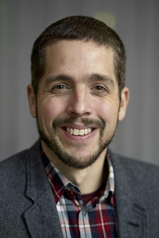 Johan Ekenstedt, entreprenör och teknikspecialist på Sveaskog.