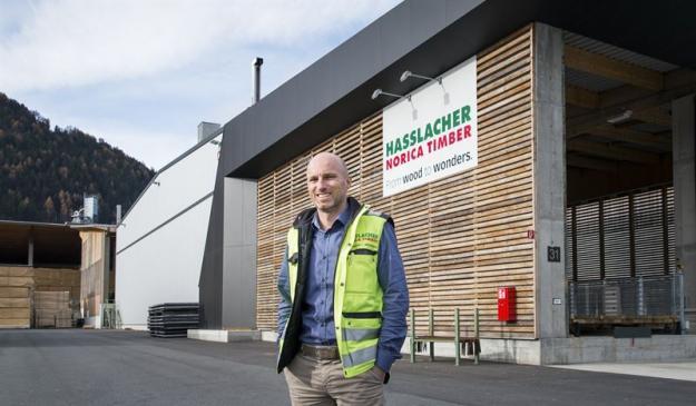 Michael Fercher, teknisk chef vid HASSALACHER Group.