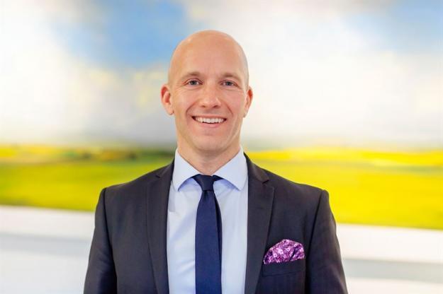 Martin Kihlberg, hållbarhetschef på Landshypotek Bank.
