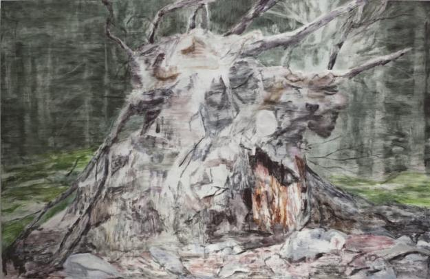 Naturligt konstverk av Susanne Johansson.