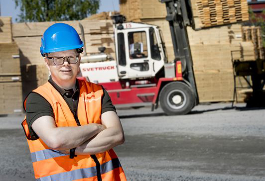 Jouko Mäkimattila, produktchef Hyvlat på Setra.