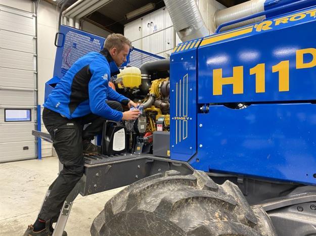 Skogsmaskiner från Rottne Industri servas nu även hos Gremo Maskinservice i tran.