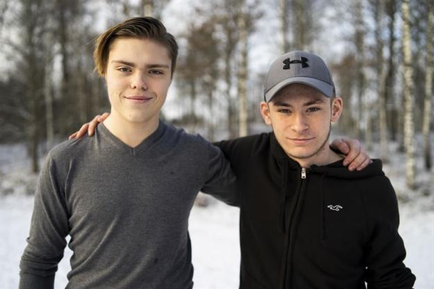 Joakim Andersson och Hugo Anberg kommer representera Naturbruk Svenljunga under EM i Skog.