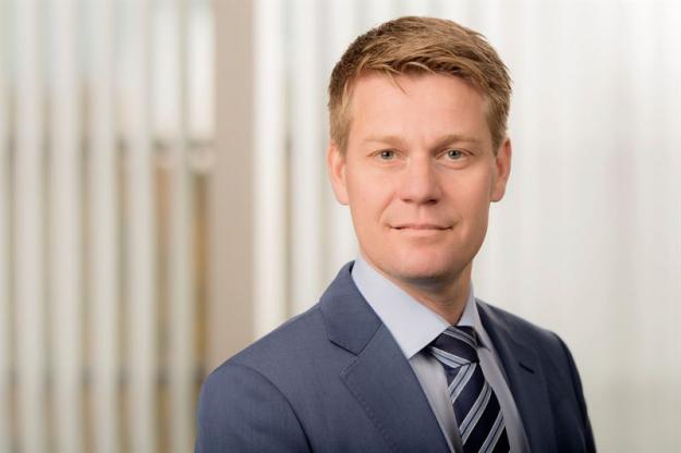 Olof Hansson, affärsområdeschef Södra Skog / President of the Södra Skog business area.