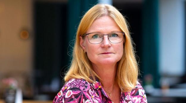 Linda Eriksson, talesperson i skogspolitiska frågor på Skogsindustrierna.