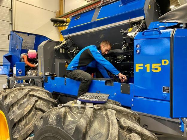 Rottne Industri AB inför nya garantivillkor på sina nyproducerade skogsmaskiner.